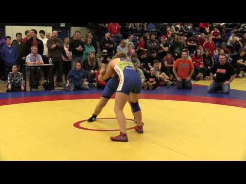 2014 Matmen Classic: 65 kg Shauna Kuebeck vs. Desirae Fenech