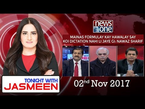 TONIGHT WITH JASMEEN - 02 November-2017 - News One