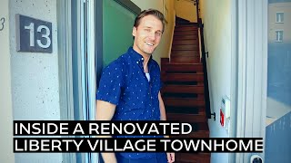 Inside a Renovated Liberty Village Townhome