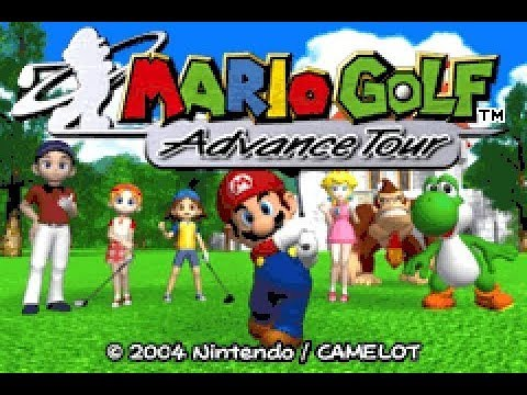 Mario Golf Advance Tour Gba All Single Tournaments Story Mode Longplay Youtube