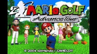 Mario Golf: Advance Tour (GBA) - All Single Tournaments (Story Mode) Longplay