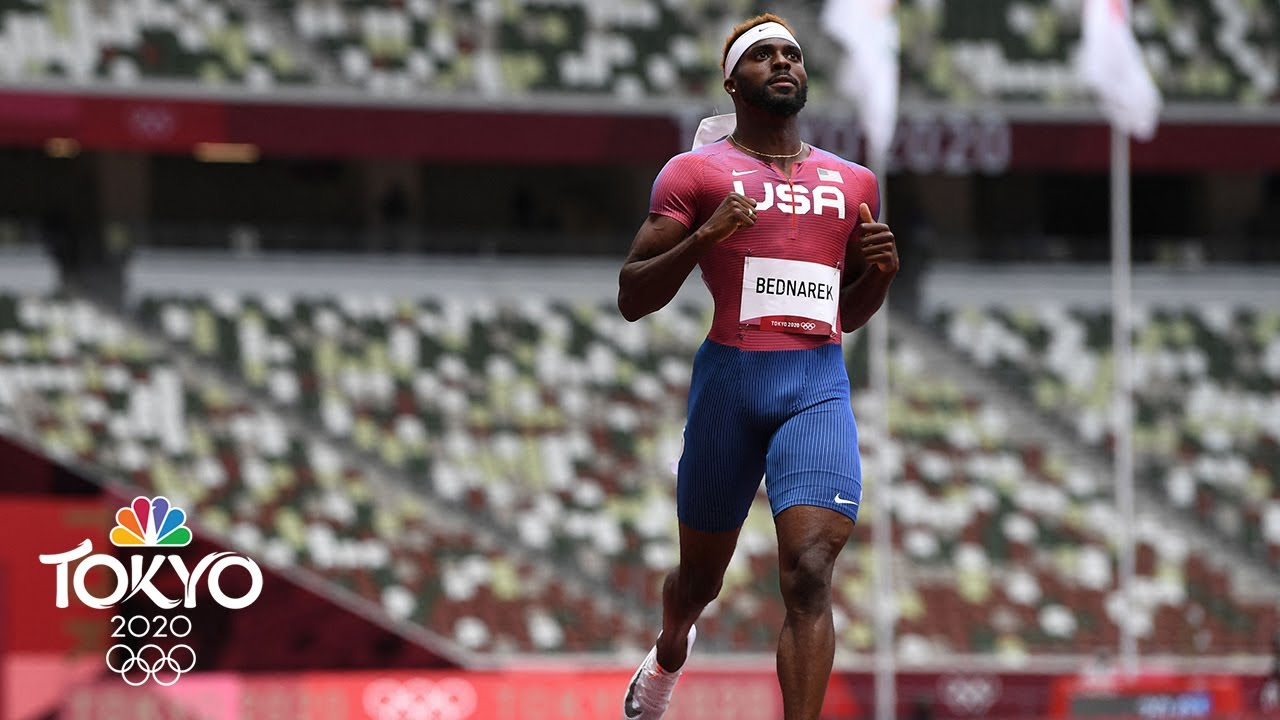 2020 Tokyo Olympics 200-meter men's final: Team USA's Kenny ...