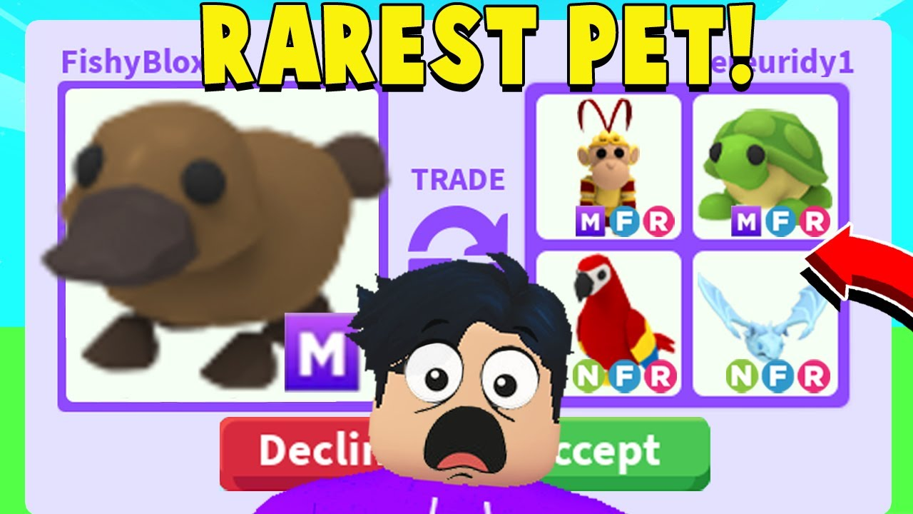 Download I Traded Away My *MEGA NEON PLATYPUS* For This.. (Adopt Me Rich Trades)