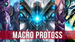 StarCraft 2: Legacy of the Void - Macro Protoss Live Gameplay!