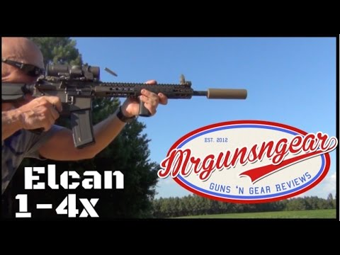 Elcan SpecterDR 1-4x Review: The Best Combat Scope? (HD)