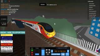 ROBLOX UKTS3 - 390 Pendolino departing Northbank