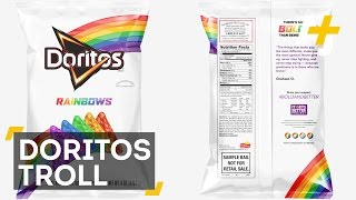 Facebook Troll Hits Back At Doritos Rainbows Haters