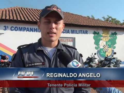 A Polícia Militar está trabalhando apenas com duas motos como viaturas para atender toda região do A