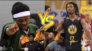 Hoopmixtape Battle!! Marcus Lovett vs Kiwi Gardner 😤🎒