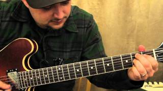 Classic Blues Turnaround Guitar Lesson - Blues Guitar Lessons how to play