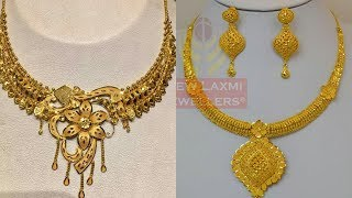 NECKLACES DESIGNS IN GOLD
