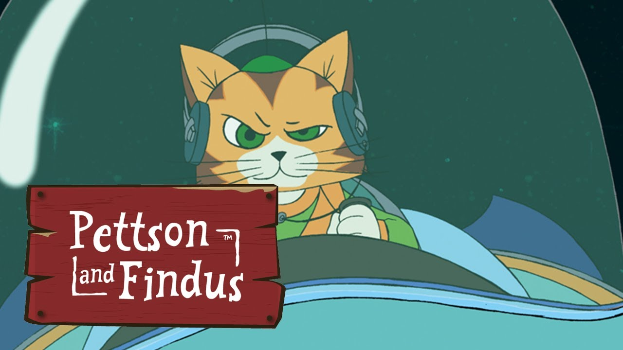 Pettson and Findus - Moonmen and Cat'o'nauts - Full episode(Komplette Folge - Pettersson und Findus)