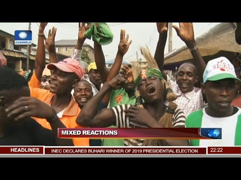 Mixed Reactions Trail Presidential Results Across Nigeria