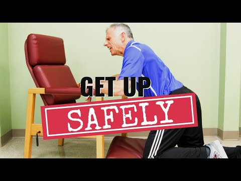 How to Get Up From the Floor After Falling, Safely!