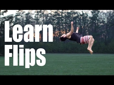 How to Learn Flips For Beginners | What Order
