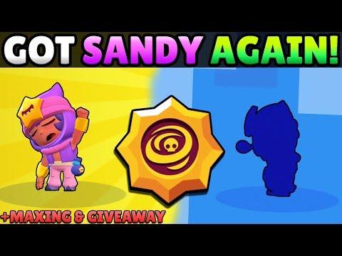 BIG GEMMING! UNLOCKED SANDY AGAIN & MAXED HIM OUT!