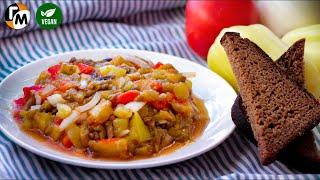 Салат из печеных овощей рецепт | Икра из печеных баклажанов  -- Голодный Мужчина, Выпуск 2