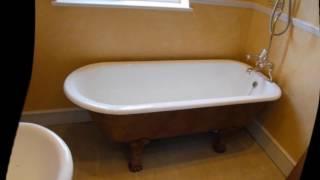 Как покрасить чугунную ванну(как покрасить чугунную ванну в домашних условиях.как покрасить старую чугунную ванну., 2016-11-06T17:14:04.000Z)