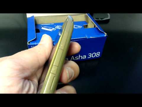NOKIA ASHA 308 DUAL SIM Unboxing Video - Phone in Stock at www.welectronics.com