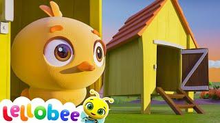 Five Little Ducks! | Kids Songs & Nursery Rhymes | Lellobee