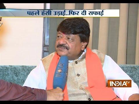 Kailash Vijayvargiya Defends