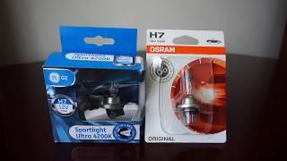 GE Sportlight Ultra 4200k vs OSRAM Original