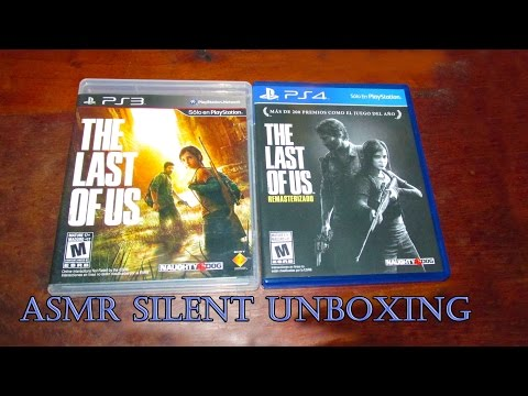 The Last Of Us Remastered - Silent Unboxing ASMR