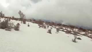 Psiloritis ski 1-3-15 [Νότια πλευρά εως καταφύγιο]