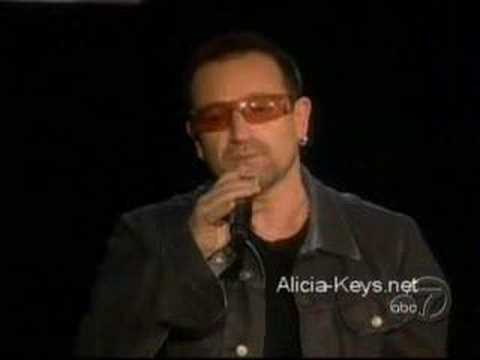 Bono & Alicia Keys: Don't Give Up Africa (live!)