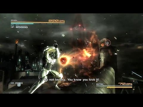 Perfect Pacifist Run - FILE R-01 - Metal Gear Rising: Revengeance