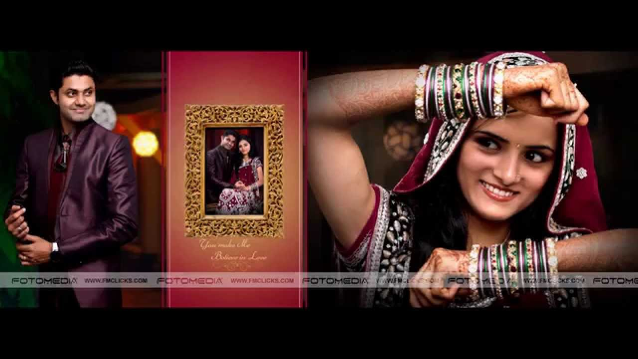 Indian Wedding Photo Book Album Design