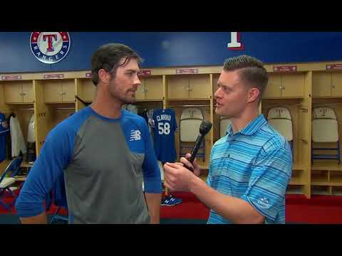 1-on-1 with the Rangers' Cole Hamels