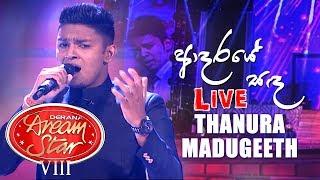 Aadaraye Sanda  - Thanura Madugeeth  | Dream Star Final Live