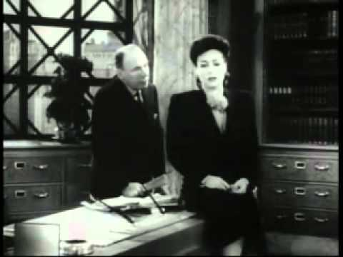 Joan Crawford  They All Kissed the Bride 1942 scene two