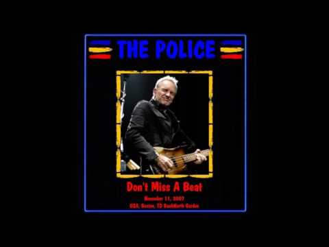 "The Police- Boston, MA 11-11-2007 ""TD Garden"" FULL AUDIO SHOW"