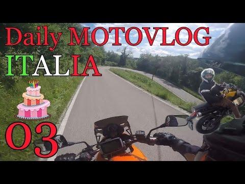 Daily MOTOVLOG ITALIA #03 - Il giorno del mio compleanno e Oscar