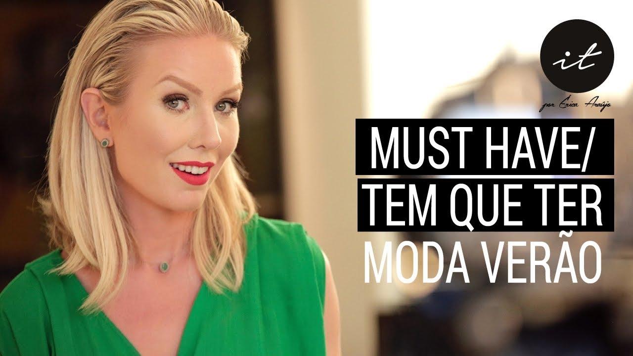 20ce5b0e6 Moda Verão 2019 - Tendências Moda Verão 2019 - Roupas - Vestidos - Blusas
