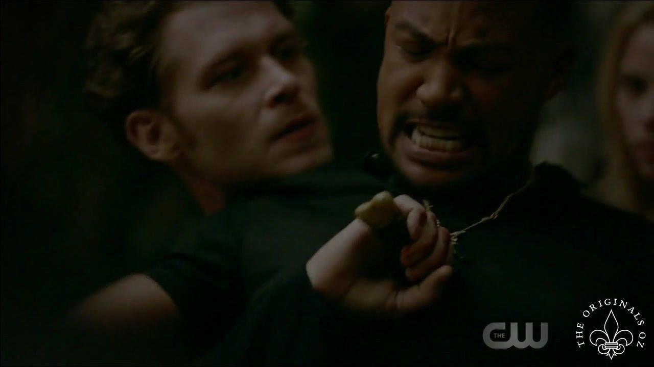 Download The Originals 4x02 Elijah & Marcel fight. Freya frees Klaus