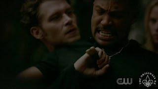 The Originals 4x02 Elijah & Marcel fight. Freya frees Klaus