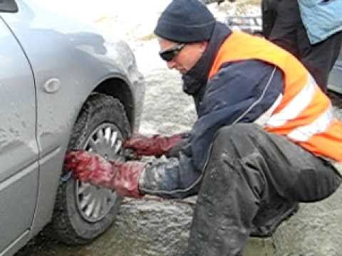 How to fit snow chains - Gregory Noye - Cardrona Ski Resort
