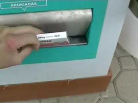 PHARMA-BOX Gyógyszerkiadó Automata