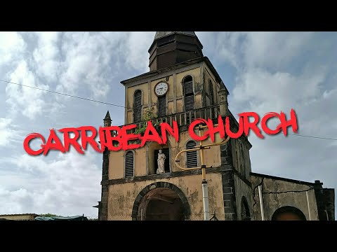 CARIBBEAN URBEX #ABANDONED CHURCH #The fallen skies...