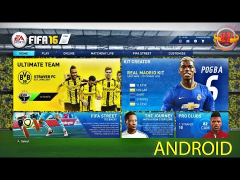 FIFA 16 MOD FIFA 18 MOBILE OFICIAL (APK/OBB) DOWNLOAD ATUALIZADO 2018❞
