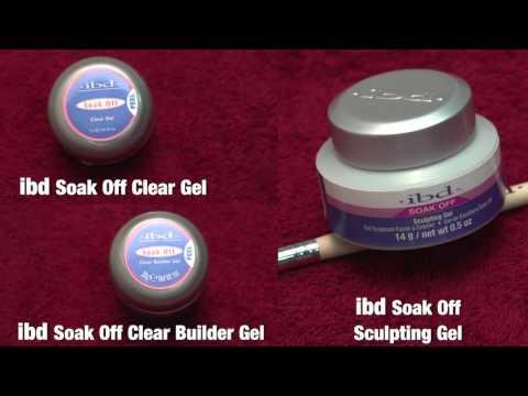 Укрепление натуральных ногтей биолегем (мягким гелем .ibd. soak off)