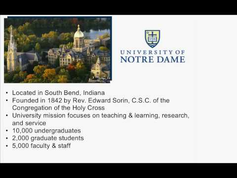 University of Notre Dame on Google Apps Education Edition