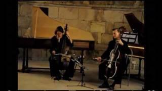Georg Phillip Telemann : Sonate en Sol majeur pour clavecin, viole de gambe & bc  - Largo