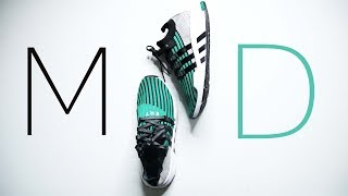 Adidas EQT SUPPORT MID ADV //Great PRIME KNIT BUT NOT WORTH IT ($160)