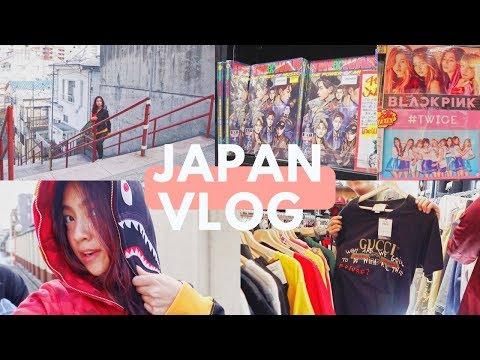 JAPAN VLOG PART 2 SHOPPING, KPOP, & KIMI NO NA WA
