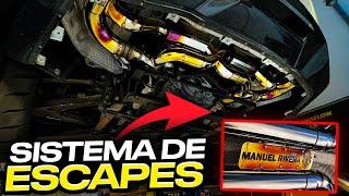 SISTEMA DE ESCAPES PARA MI AMG GTS.. | ManuelRivera11