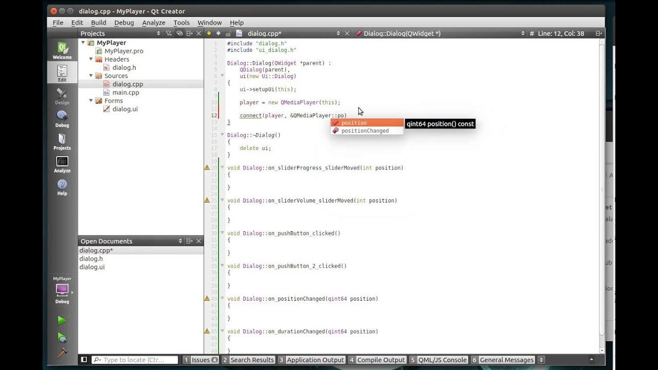 C++ Qt 129 - Introduction to QMediaPlayer